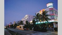 Miami's Art Deco district-South Beach