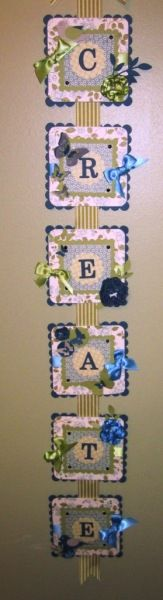 Stampin' Up!  Create Banner  Sharon White