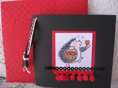 Hand made card - Valentines day 2012, made by Anna Jaawre