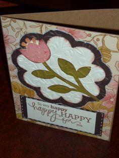 Flower card - Picturesque Cartridge [29-0705] - Cricut Forums