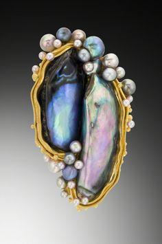 Lilly Fitzgerald, Spencer, MA; Jewelry Precious. Philadelphia Museum of Art Craft Show.