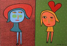 milo lockett - Buscar con Google American Art, Find Art, Folk, Faces, Google, Sketches, Art Pictures, Watercolour, Paintings