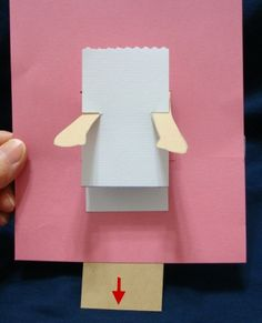 Paper craft: How to make pop-up card.