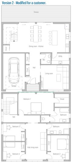 Blueprints for a house building plans for my house customer house plan my house plans house Simple House Plans, My House Plans, House Floor Plans, Minecraft Houses Blueprints, House Blueprints, Building Plans, Building A House, Blueprint Symbols, Kids Living Rooms