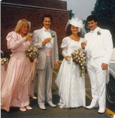 27 Of The Most Amazing '80s Weddings You'll Ever See