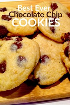 This is truly the best ever chocolate chip cookie recipe I have ever tried. Soft butter chocolate chip cookies that are truly delicious. This recipe has been pinned over 3000 times. Delicious Cookie Recipes, Easy Cookie Recipes, Brownie Recipes, Easy Desserts, Dessert Recipes, Yummy Food, Simple Recipes, Amazing Recipes, Cupcake Recipes