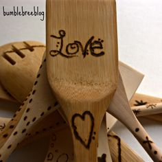 Wood Burned Spoons - They Really Are That Easy
