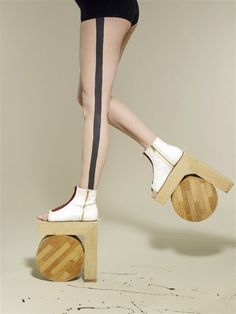 architectural shoes- I could use these at the grocery store to reach the stuff on the top shelf that no one ever pulls to the front.