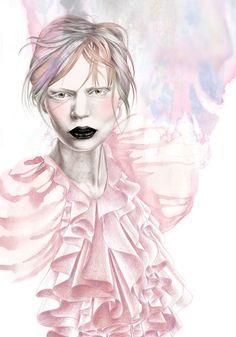 fashion drawings | Mia Marie Overgaard