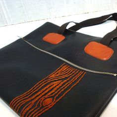 orange tree tote by another jamie davise $52