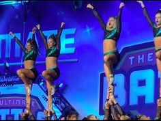 Jenne stunting with cheer extreme