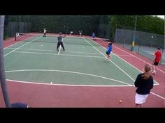 Tennis Warm Up Games For Kids - with Karl Stowell - YouTube