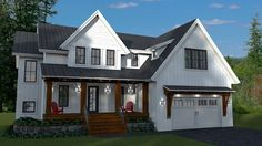 Modern Farmhouse With Optional Finished Lower Level
