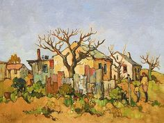 Buy online, view images and see past prices for Conrad Theys; South Africa Art, South African Artists, Love Art, Barns, Pastels, Cottages, Landscape Paintings, Art Boards, Street Art