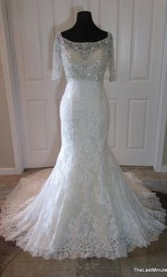 Allure Bridals C341 14: buy this dress for a fraction of the salon price on PreOwnedWeddingDresses.com