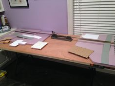 """My latest project is being built on a 32"""" x 80"""" hollow core door. It will represent part of a branch line that will run from Slidell, LA to the port of Bienville, MS when the addition to the train..."""