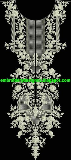 Making Embroidery Easier for You! Border Embroidery Designs, Hand Work Embroidery, Machine Embroidery Projects, Indian Embroidery, Shirt Embroidery, Embroidery Thread, Creative Textiles, Motif Design, Linens And Lace