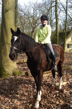 Ik hou van paardrijden