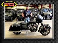 Thanks to Terrill Rogers from Petal MS for getting a 2016 Indian Dark Horse. @HattiesburgCycles