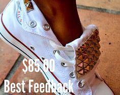 Tachas Converse Chuck Taylor All Star zapatos por LoveChuckTaylors