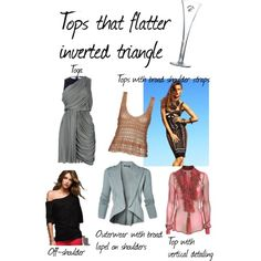 Tops that Flatter the Inverted Triangle Body Shape