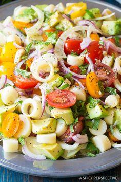 Perfect Brazilian Chopped Salad Recipe
