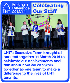 Making a Difference 2013/14 - Our Staff