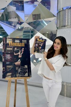 Shraddha Kapoor unveils India Today Woman's anniversary issue. #Bollywood #Fashion #Style #Beauty