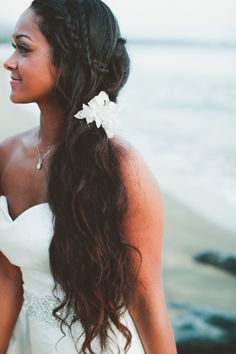 Beautiful wedding hair.One day exactly like this