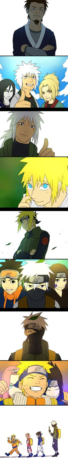 Team 7 Generations - The history of Team 7.  They have bad karma, hell yeah.