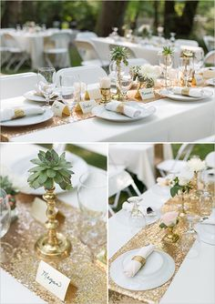 44 best gold table images ideas place settings shun cutlery rh pinterest com