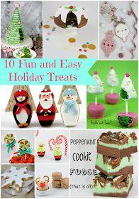 10 fun and easy holiday treats