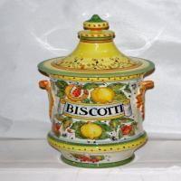 Biscotti Jar | Italian Ceramics