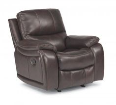 Woodstock Fabric Power Recliner by #Flexsteel via Flexsteel.com
