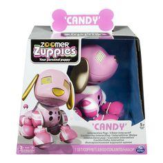 """Spinmaster 6026680 - Zoomer Zuppies """"Pink Candy"""", Elektronische Haustier: Amazon.de: Spielzeug"""