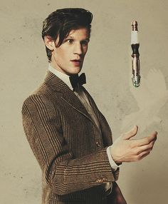Matt Smith the Doctor on Doctor Who