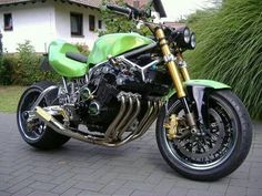 Honda CBX 1100. These things are F1 cars on two wheels, gorgeous exhaust note.