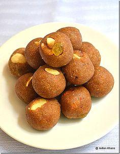 Singhara & Sabudana Laddoo | fasting (Vrat) recipes