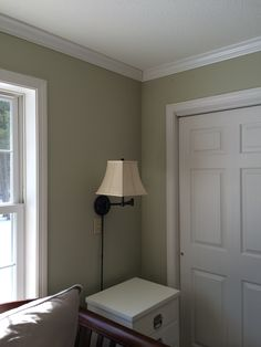 Paint And Moulding Up Restoration Hardware Sycamore Green