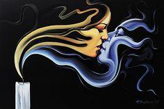 """Kiss""  by Galya Bukova.:).Did.G."
