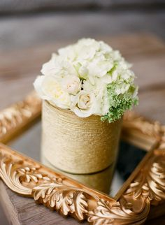 white floral, gold white wedding, Las Vegas wedding planner, gold wedding, navy wedding