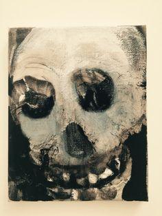 Marlene Dumas, Skulls, 2013-15