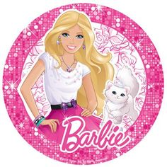 Beautiful BARBIE photo cakes made easy with our edible cake stickers. Bolo Barbie, Barbie Cake, Barbie Dolls, Barbie Theme Party, Barbie Birthday Party, Birthday Cake, Cupcakes Da Barbie, Barbie Cartoon, Barbie Coloring Pages