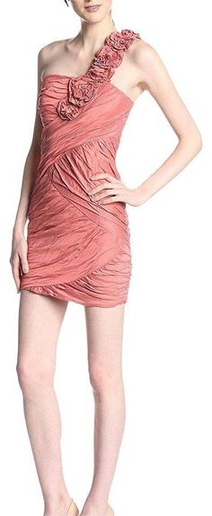 $518 BCBG  MaxAzria Coral Reef Crinkled Evangeline Sheath Dress 2 NWT B720 #BCBGMAXAZRIA #SheathDress #PartyCocktail B720, Crinkles, Sheath Dress, Coral, Formal Dresses, Fashion, Dresses For Formal, Moda, La Mode