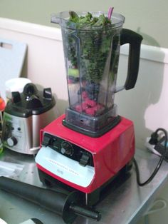 I tried out a VitaMix blender. It was really something.