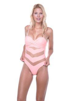 5f293ca37af Ολόσωμο gsecret ενισχυμένο με διαφάνεια & κανονικό bikini.Elegance  collection.