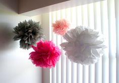 flower wand pom pom - Google Search
