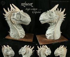 Rothwart the Dragon Sculpture by ~Kalasinar on deviantART