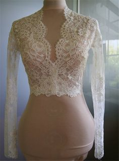 Free shipping, $38.98/Piece:buy wholesale Cheap Bridal Wraps Modest Alencon Lace Crystals V Neck Sheath Wedding Bridal Bolero For Wedding Dresses Long Sleeve Lace Applique Jacket from DHgate.com,get worldwide delivery and buyer protection service.