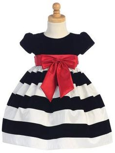 70acb1d6c38 Xmas Girls Kids Sequins Baby Long Sleeve Doll collar Striped Dress Princess  Holiday Tulle Party Dresses 0-5Y